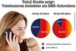 Tele2 Umfrage ergibt: lieber Allnet telefonieren statt SMS